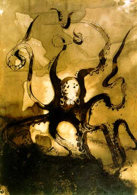 victor_hugo-octopus_with_the_initials_V_H