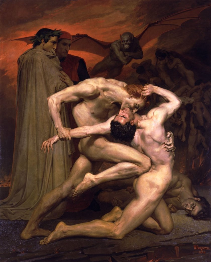 bodegas-blogspotwilliam-adolphe_bouguereau_1825-1905_-_dante_and_virgil_in_hell_1850