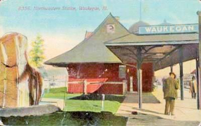 North Western Station 1910
